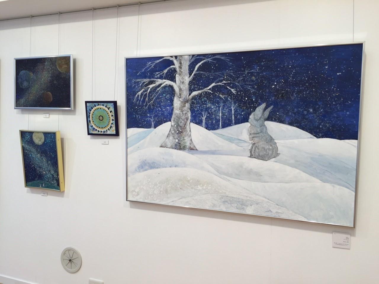 はらづもり展 3日目: art gallery, on the wind blog