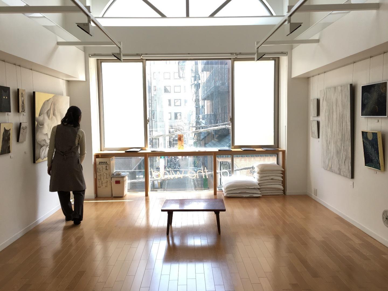 はらづもり展2日目: art gallery, on the wind blog
